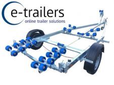 EXTREME 1400kg SWING CRADLE BOAT TRAILER 18ft BOATS 6.2m RIBS / DINGHY